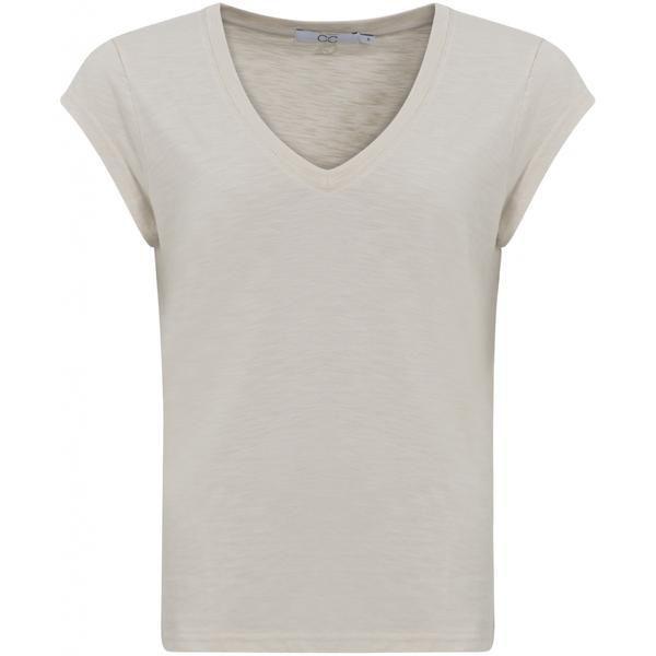 CCH T-shirt V-Neck Sand