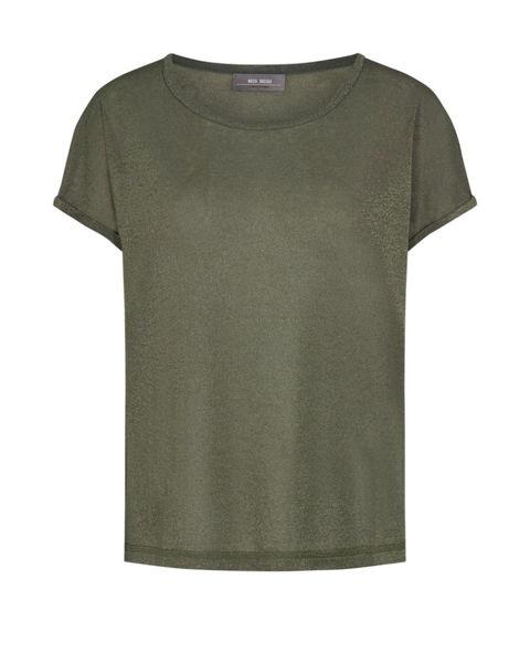 Mos Mosh T-shirt Kay Grape Leaf