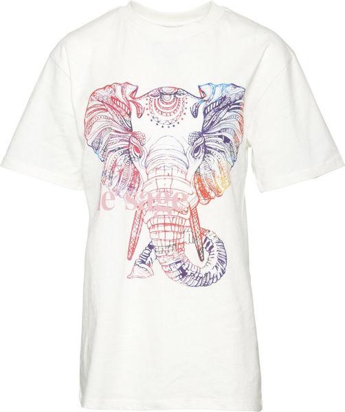 Krom2 Long T-shirt White Elephant