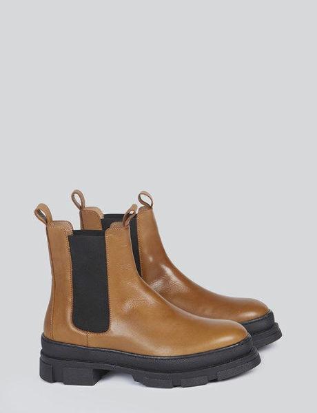 Summum Støvler Chunky Chelsea Boot Chestnut