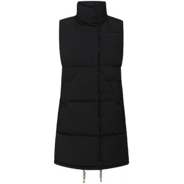 Coster Copenhagen Vest Long Puffer Black