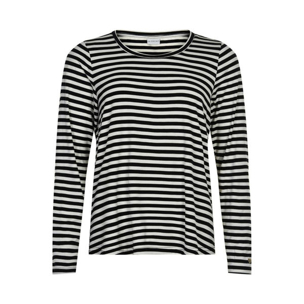 Infront T-shirt Louise Black