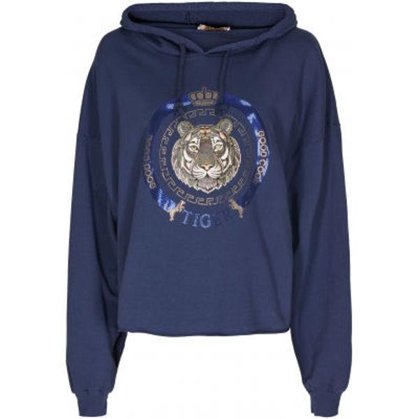 Marta Du Chateau Sweatshirt Tiger Navy